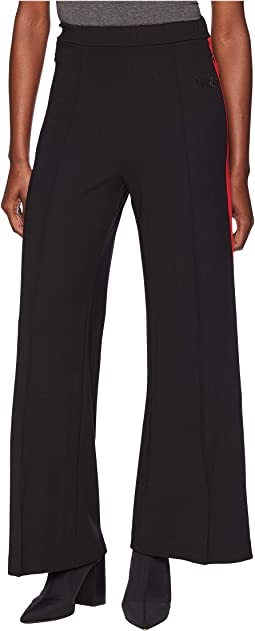 Trousers with Red Stripe on the Sides