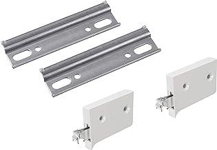 Metafranc Kastophangset - Incl. 2 kasthangers (rechts en links) & 2 ophangrails - Voor het eenvoudig ophangen van hangkast...