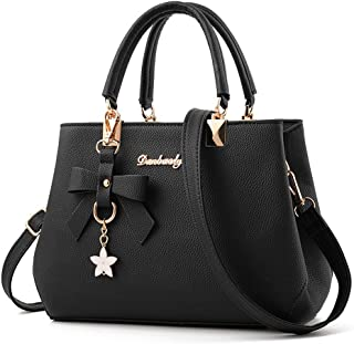 Dreubea Womens Handbag Tote Shoulder Purse Leather Crossbody Bag