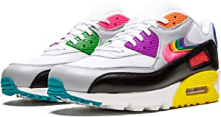 Nike Air Max 90 Betrue (White/Multi-Color-Black 9)