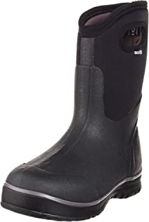 Bogs Men's Classic Ultra Mid Insulated Waterproof Winter Snow Boot