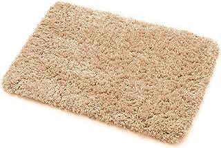 Bathroom Rug Non Slip Bath Rugs Soft and Absorbent Plush Bath Mat, 20 x 30 Inch (Khaki)