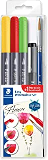STAEDTLER Design Journey 3001STB5-2 - Set di acquerelli, fiori