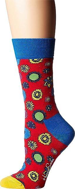 Beatles Flower Power Sock