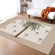 Fantasy Staring Area Rugs for Living Room & Bedroom, Tropical Palm Tree Non-Slip Modern Carpet Children Playroom Soft Carp...