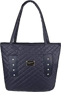 New Women Quilted Leather Designer Shopper Bag Hobo Shoulder Tote Handbag Purse