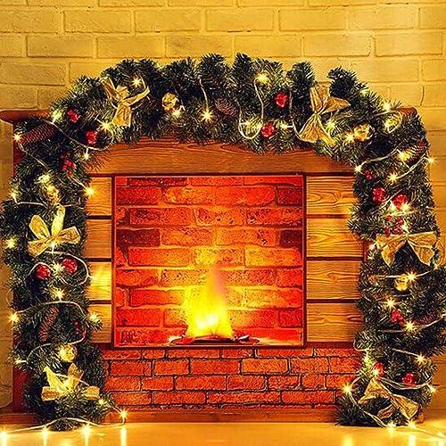 calidad fantástica BCX las Decoraciones Decoraciones Decoraciones de Navidad 2.7 Metros Luxury Rattan Light Gate Escenas Disposición  salida de fábrica