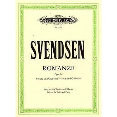 Svendsen: Romance (Romanze) in G, Op.26 (Violin & Piano)