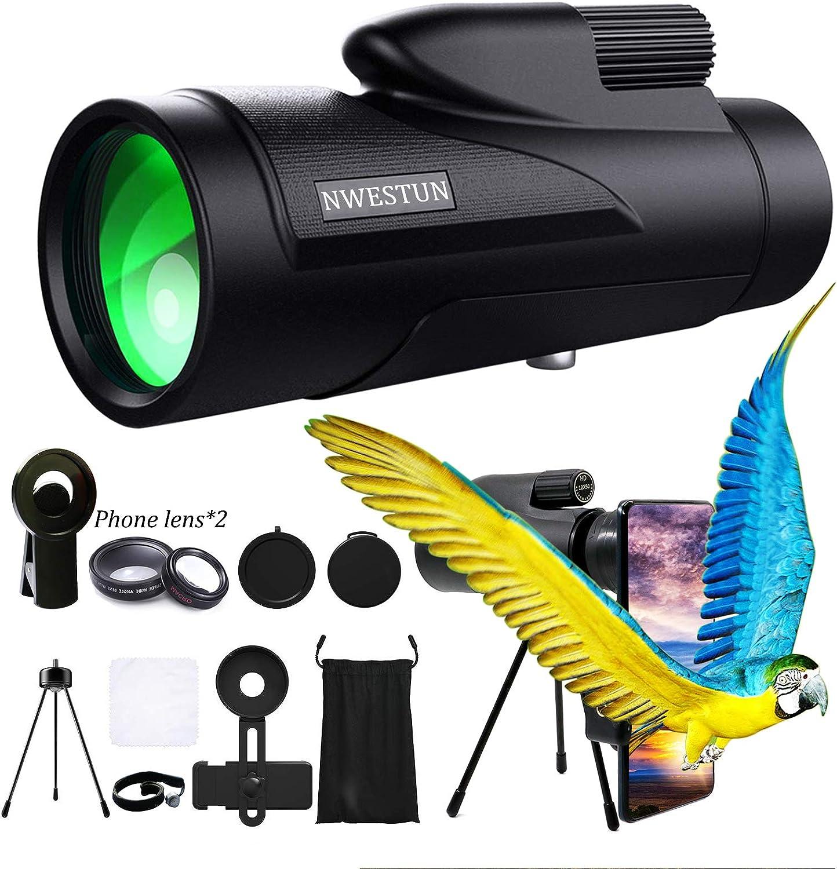 Seattle Mall 12x50 Bird Watching Bombing new work Monocular Telescope High - Monocu Definition