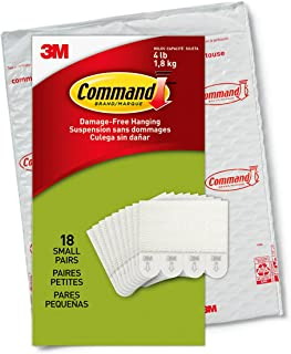 Command Picture Hanging Strips, 18-Pairs (36-Strips),...