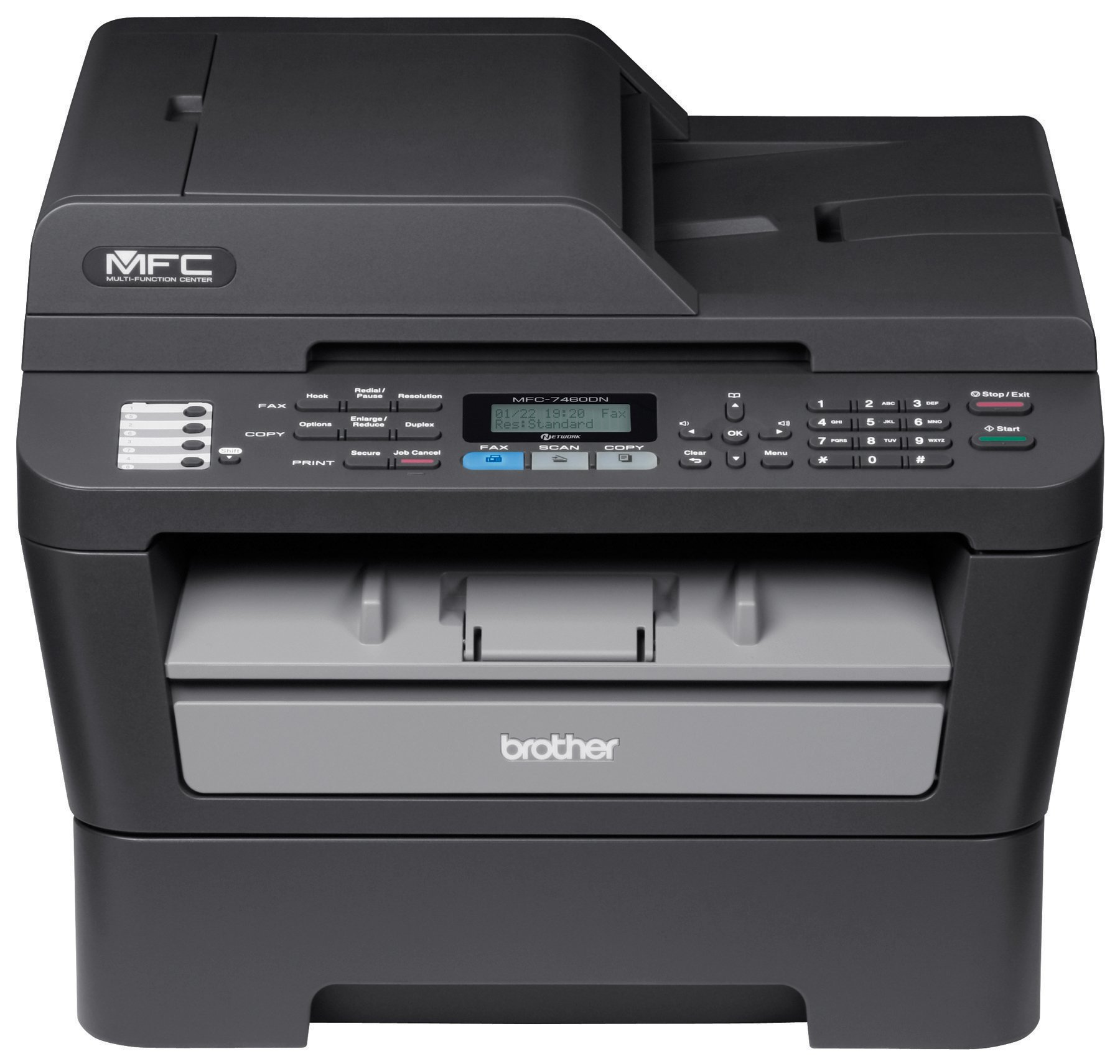 Brother MFC46DN Ethernet Monochrome Printer with Scanner, Copier & Fax