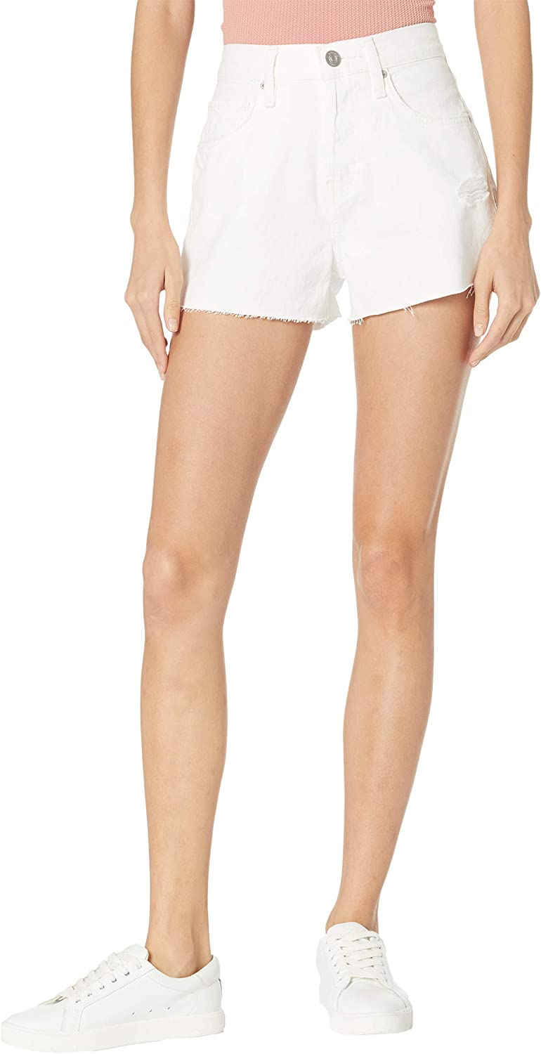 HUDSON Jeans All items free shipping Women's Lori high Rise Short Cut Fashionable White Off DEST.