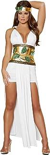 Sexy Women's 4pc Divine Greek Goddess Costume