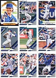 b1bbae37 2019 Donruss Baseball New York Mets Team Set of 11 Cards: Jacob deGrom(#