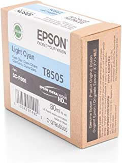 Epson T850500 T850 UltraChrome HD Light Cyan Ink