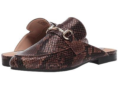 Steve Madden Kandi Slip-On Mule (Brown Snake) Women