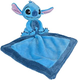 Disney Stitch Doudou Mouchoir Bleu 40 cm