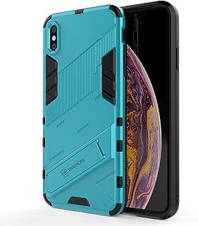 PC+ TPU dubbellaags telefoonhoesje voor iPhone Xs Max (lichtblauw)
