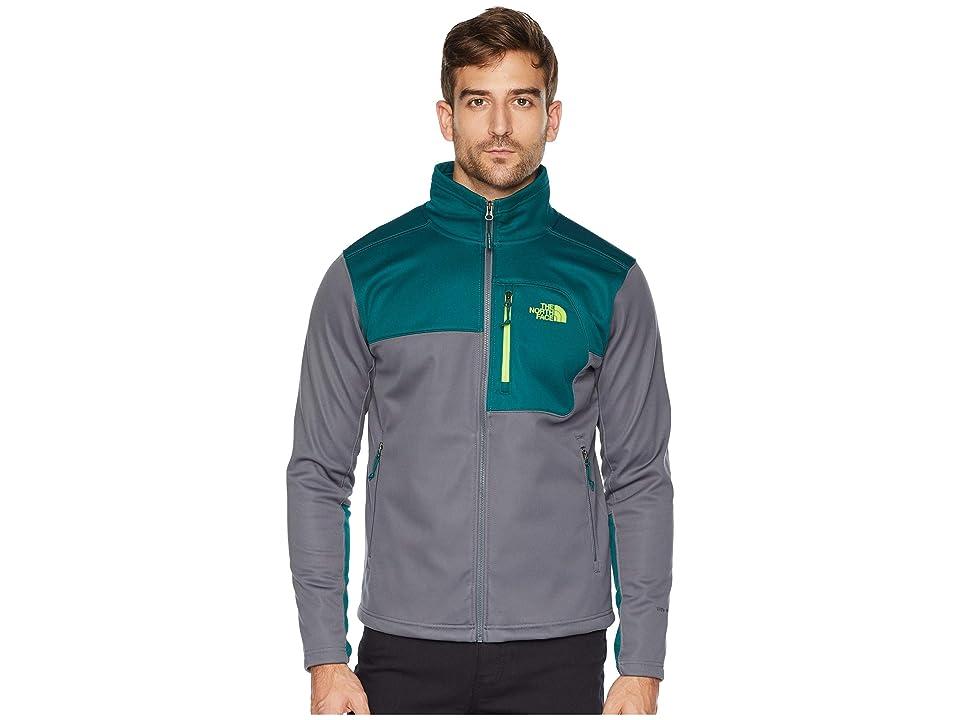The North Face Apex Risor Jacket (Vanadis Grey/Botanical Garden Green) Men
