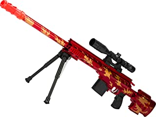 Evike Red Dragon Spring Powered Airsoft Sniper Rifle with Mock Scope and Bipod