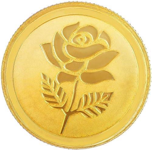 Malabar Gold & Diamonds 22k (916) 5 gm Yellow Gold Coin