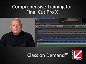 Comprehensive Training for Final Cut Pro X
