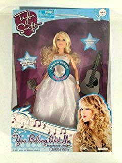 PHOENIX FINDS TREASURES Taylor Swift You Belong with Me Performance Collection Singing Doll Jakks