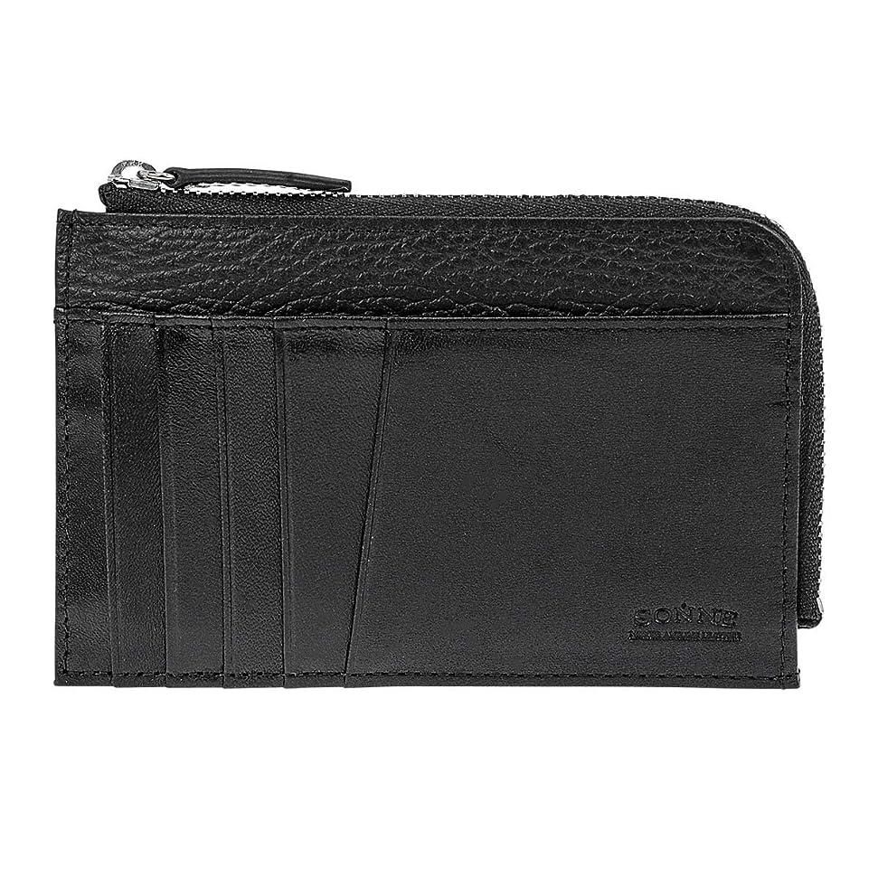 枠おかしい応じる[ゾンネ] 二つ折り財布 ミロワール メンズ