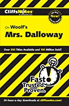 CliffsNotes on Woolf's Mrs. Dalloway (CLIFFSNOTES LITERATURE)