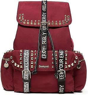 Luxury Fashion | Desigual Womens 19WAKA22PURPLE Purple Backpack | Fall Winter 19
