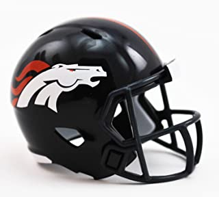 DENVER BRONCOS NFL Cupcake / Cake Topper Mini Football Helmet