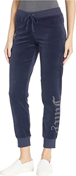 Track Velour Juicy Gothic Zuma Pants