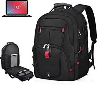 Laptop Backpack 17 Inch Waterproof Extra Large TSA Travel Backpack Anti Theft College School Business Mens Backpacks with ...
