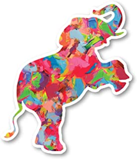 Elephant Standing Sticker Watercolor Paint Stickers - Laptop Stickers - 2.5