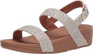 FitFlop Lottie Glitter Stripe Back-Strap Sandals womens Sandal