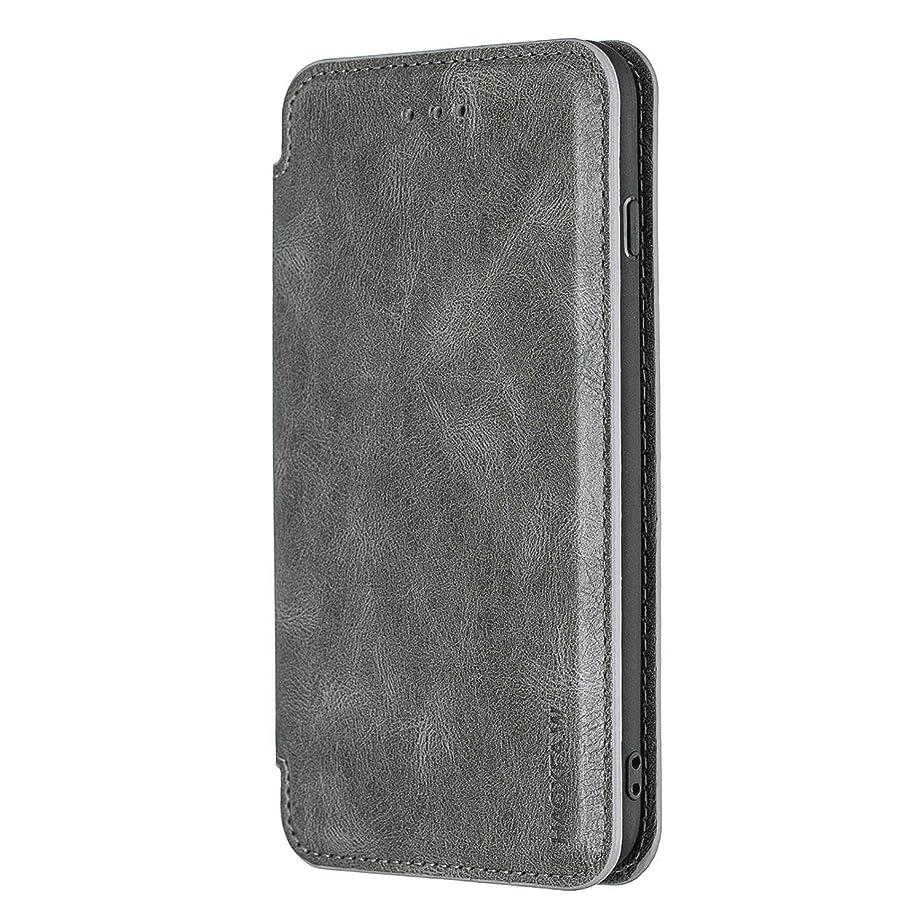 叱る辛な適応iPhone X PUレザー ケース, 手帳型 ケース 本革 カバー収納 耐摩擦 ビジネス 財布 ポーチケース 手帳型ケース iPhone アイフォン X レザーケース