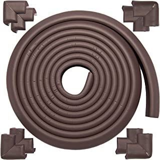 BlueBurps Furniture Edge and Corner Guards Table Edge Protectors Baby Proofing Bumper for Fireplace, Stair, Cabinet, Count...