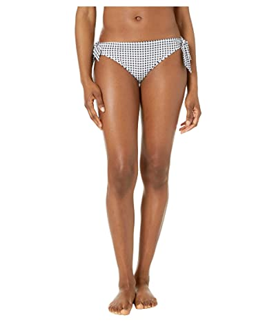 Tommy Bahama Gingham Tie Side Hipster (Black/White) Women