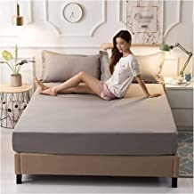 Bedding Premium Mattress Cover Waterproof Non Slip Comfort Soft Mattress Pads Cover Not Easy to Pilling Sweat Absorption (...