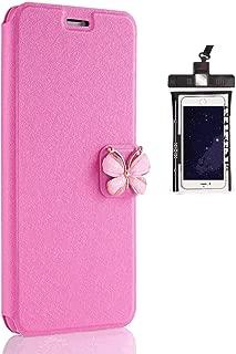耐摩擦 手帳型 アイフォン iPhone 8 ケース 本革 レザー スマホケース カバー 財布型 耐汚れ 無料付防水ポーチ