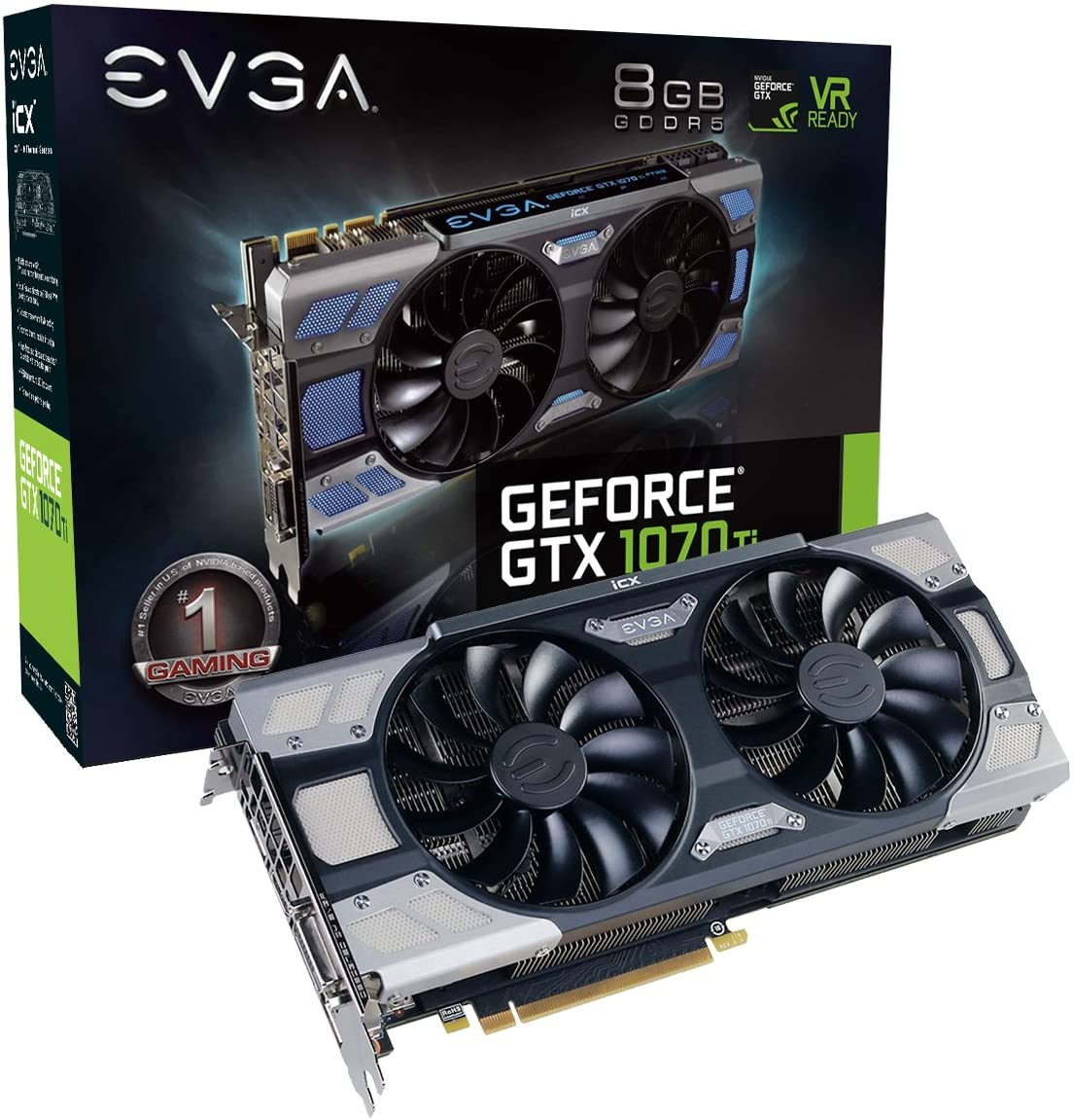 EVGA GeForce GTX 1070 Ti Graphics Card– Best GPU For PUBG
