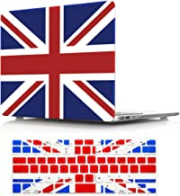 Macbook Air 11 inch A1370/A1465 Case, PapyHall Color Printing Plastic Protective Hard Case & Keyboard Cover for MacBook Air 11 inch Model: A1370/A1465 (TZ-Uk Flag)