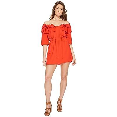 Jack by BB Dakota Bowser Off the Shoulder Dress (Poppy Red) Women