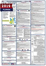 2019 Florida Labor Law Posters (Laminated) All-in-One State and Federal Approved, OSHA Compliant Vertical 27