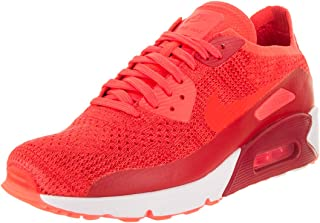 NIKE AIR MAX 90 Ultra 2.0 Flyknit Crimson RED White Mens Running 875943 600