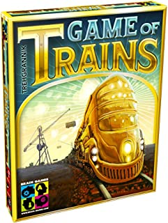 BRAIN GAMES Game of Trains - Strategy Card Game for Kids Age 8+, Teenagers & Adults - Award Winning Family Fun!
