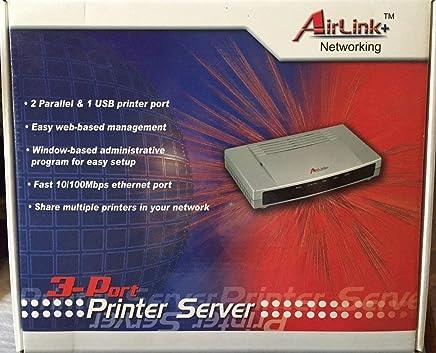 AirLink 3-Port Printer Server APSUSB2 [並行輸入品]