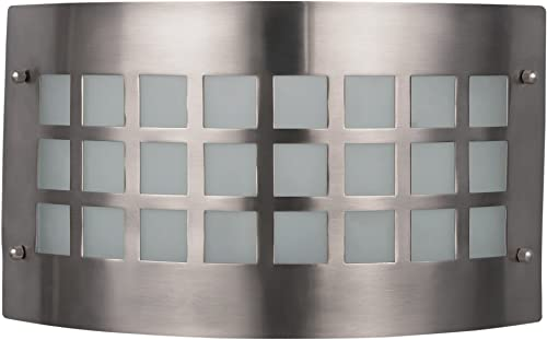 high quality CANARM LTD. 2021 IWL118B12BPT Franklin Wall, 1 Bulb Wall Light, Brushed Pewter, 2021 White outlet sale
