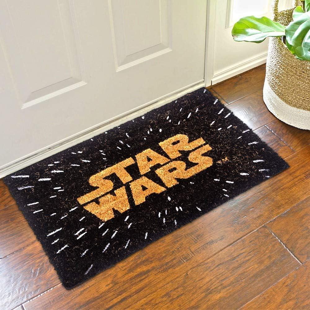 Pyramid America Star Wars Logo Movie Outdoor Doormat Low price 30 Mat Manufacturer direct delivery Door