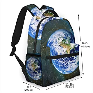 School Bag Earth Sports Backpack Perfect For School College Work Commute Weekend Getaway Casual Travel